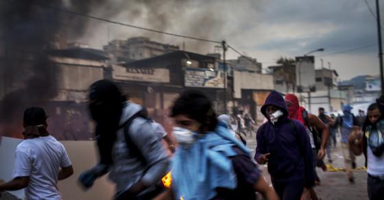 Anatomy of a Venezuelan Student Protest