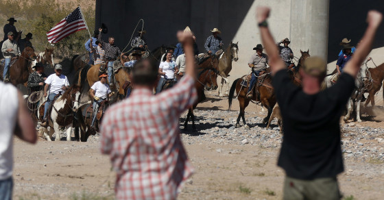 American Militias Emboldened by Victory at Bundy Ranch
