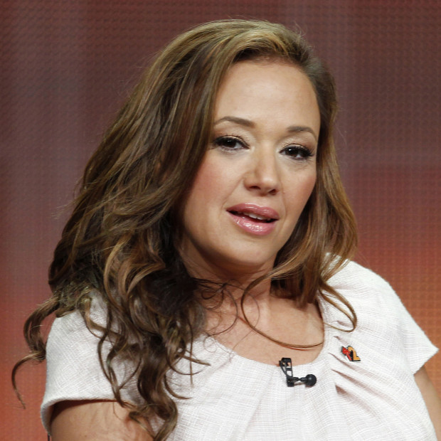 Actress Leah Remini speaks at a panel discussion during the Television Critics Association Summer press tour in Beverly Hills, California, in this file picture taken July 27, 2012. Remini's departure from the Church of Scientology this week raised new questions about the relationship top leaders assume with their high-profile Hollywood members and their ability to retain them. Scientology, which was founded in 1954 by science-fiction writer L. Ron Hubbard, has attracted several Hollywood stars including Tom Cruise and John Travolta. To match story PEOPLE-LEAHREMINI/SCIENTOLOGY     REUTERS/Fred Prouser/Files   (UNITED STATES - Tags: ENTERTAINMENT RELIGION HEADSHOT) - RTX11LK9