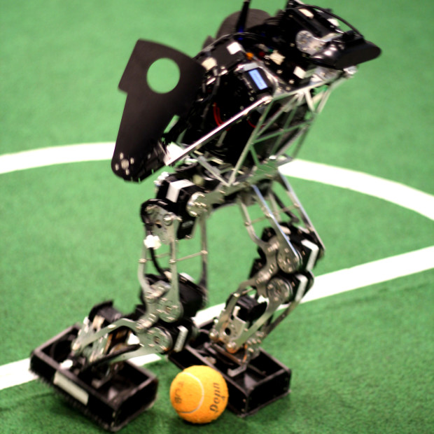 Soccer Playing Robots 01