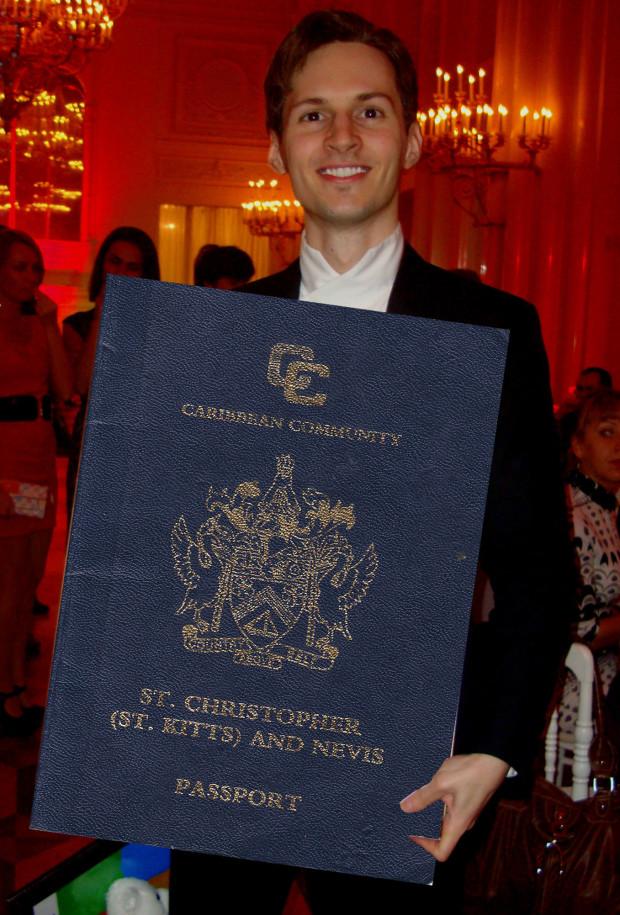 052214 Pavel Durov St Kitts