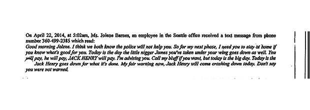 Bad Coworker Seattle Bomb Threats 06