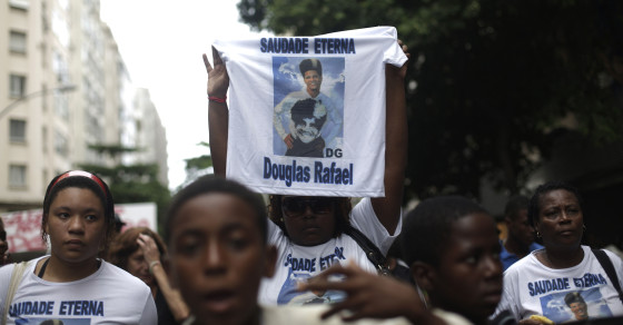 Dancer's Death Rattles Rio as World Cup Looms
