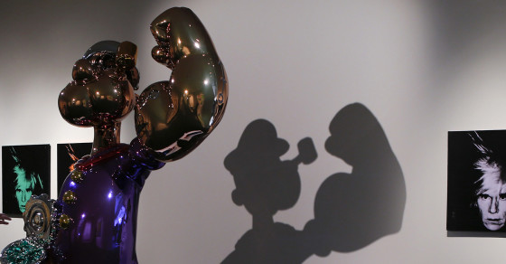 What a $25M Popeye Sculpture Says About the Super-Rich