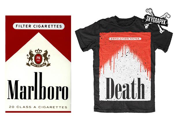 Big Tobacco Tshirt Parody 03