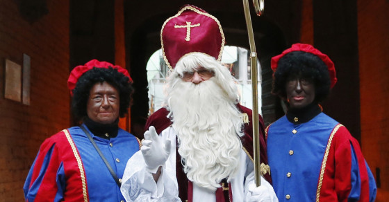 Dutch Call for Makeover of Racist Holiday Character