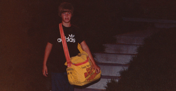 The Original Missing Boy on the Milk Carton