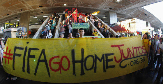 Brazilians Are So Angry at Their Government, They're Rooting for Argentina