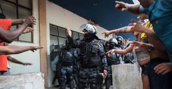 Brazil's Deep Web Battle Over Police Brutality