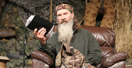 """Duck Dynasty"" Bible Joins Long Tradition of Stupid Theme Bibles"