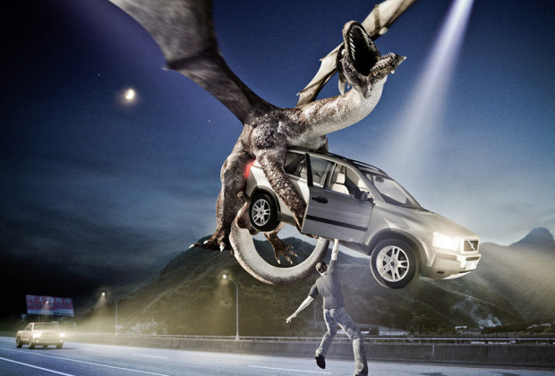 Dragon Car Sex Poster