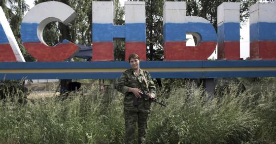 Meet the Female Fighters of Eastern Ukraine