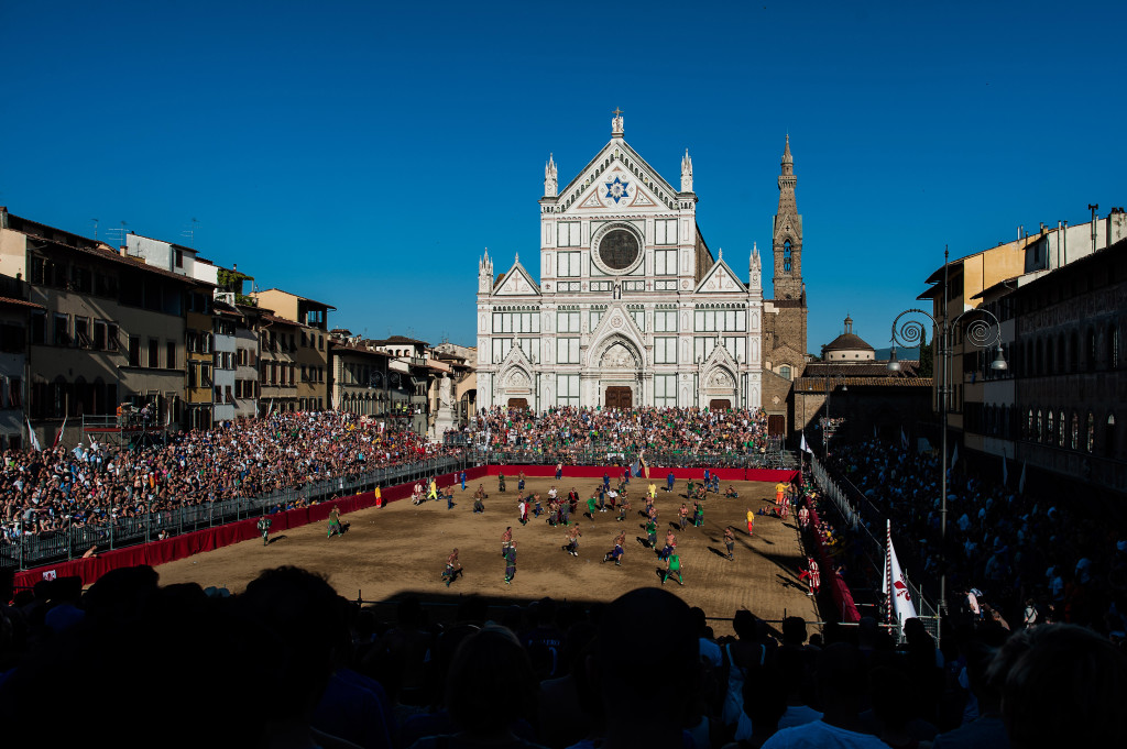 The Modern-Day Gladiators of Calcio Storico Fiorentino
