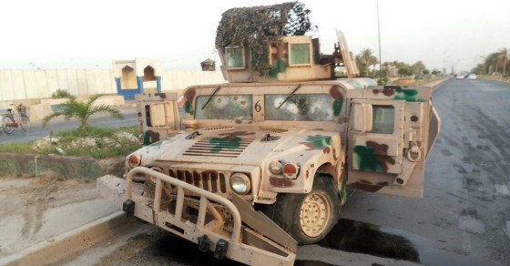 Terrorists Seize U.S. Weapons in Iraq