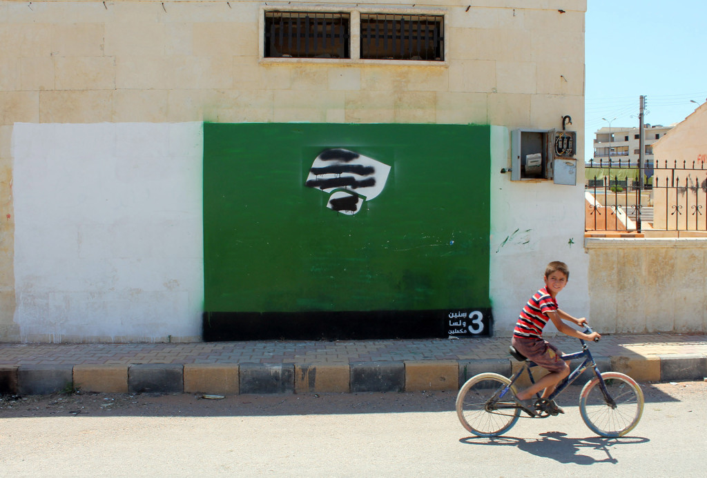 Former ISIS Stronghold Gets Colorful New Look