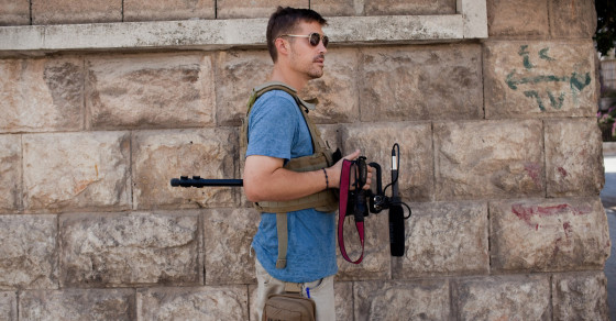 ISIS Beheading of U.S. Journalist James Foley Posted to YouTube