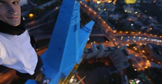 Dissident Daredevil Admits to High-Altitude Anti-Putin Protest