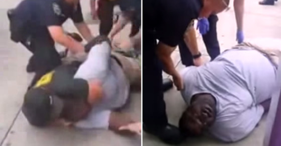 NYPD Cops Launch Choke Hold Protest on Facebook