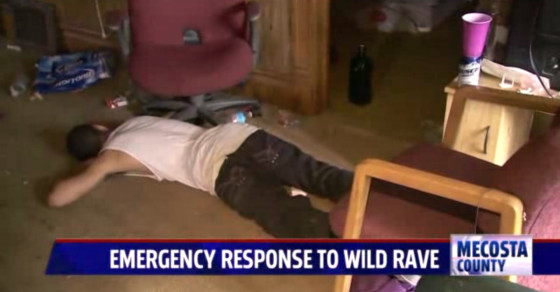 This Kid Passed Out at a Rave and Woke Up an Internet Celebrity