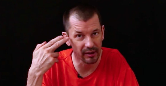 """ISIS Uses British Journalist John Cantlie to Present Web """"Shows"""""""