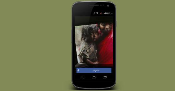 App Hopes to Save Indian Beggar Children