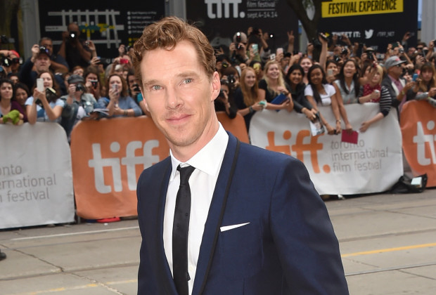 """TORONTO, ON - SEPTEMBER 09:  Actor Benedict Cumberbatch attends """"The Imitation Game"""" Premiere during the 2014 Toronto International Film Festival at Princess of Wales Theatre on September 9, 2014 in Toronto, Canada.  (Photo by Jason Merritt/Getty Images)"""