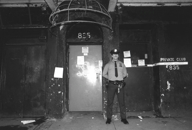 "N 360561 001 12 Nov 1985 New York City Nyc: ""Mineshaft"", Bar Closed.  (Photo By Yvonne Hemsey/Getty Images)"