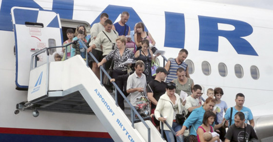 Russia Flies Ukrainian Refugees to Safety…in Siberia