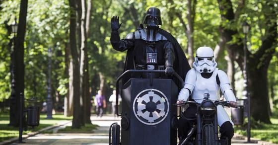 Here's Why Ukrainians Should Vote for Darth Vader