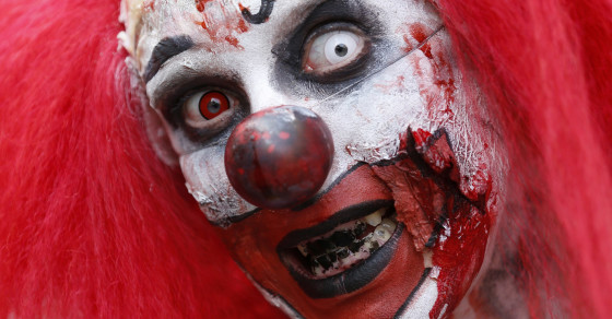 Violent Clowns Are Forcing Creepy Clowns to Hang Up Their Wigs