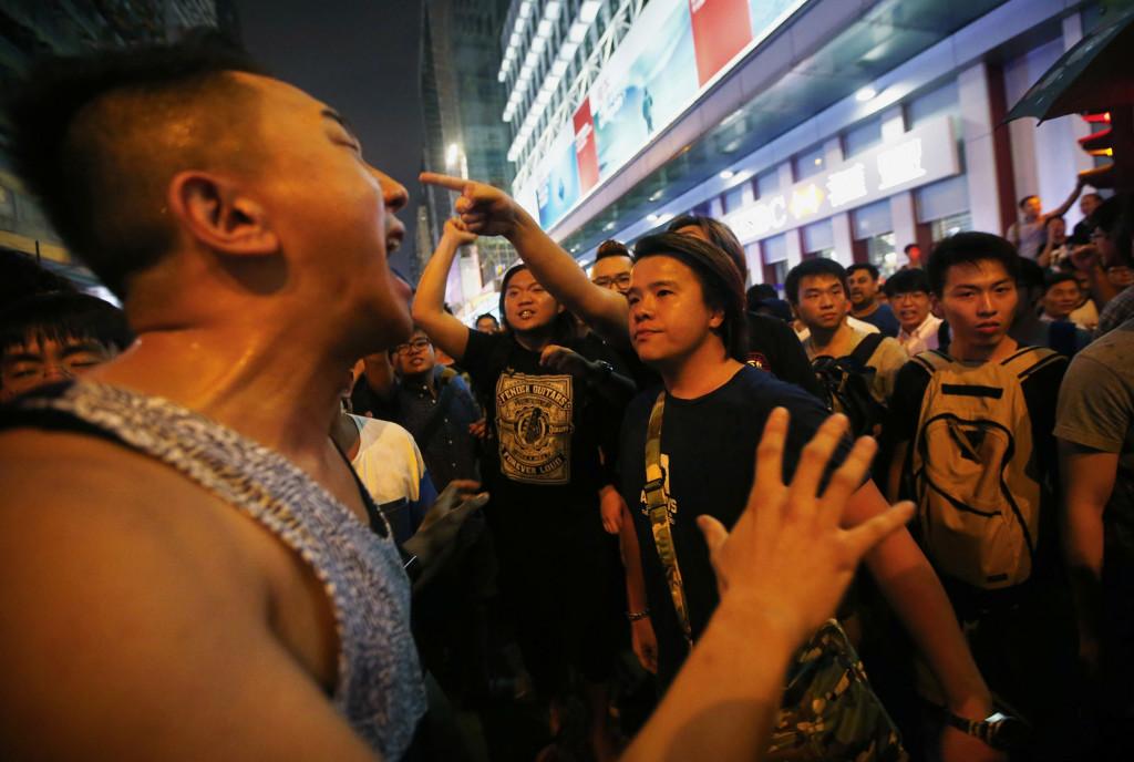 """Hong Kong's """"Polite"""" Protests Get Rowdy"""