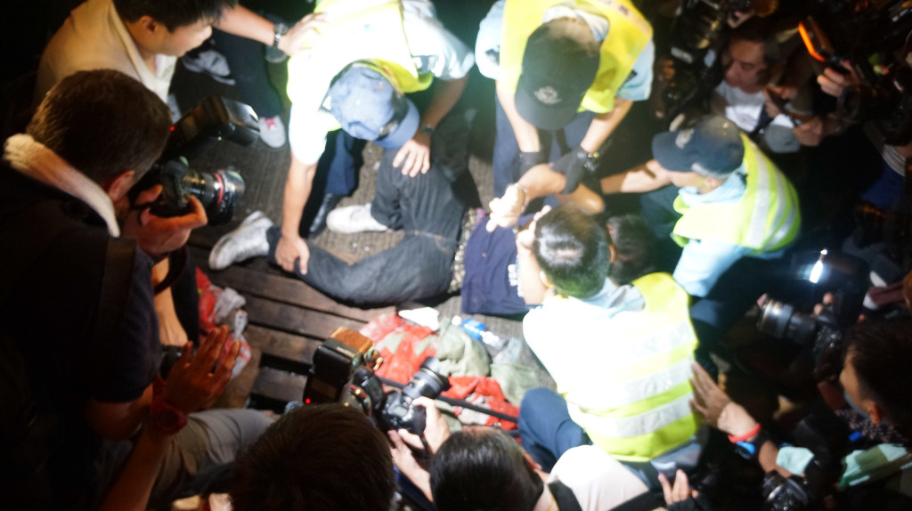 "Hong Kong's ""Polite"" Protests Get Rowdy"
