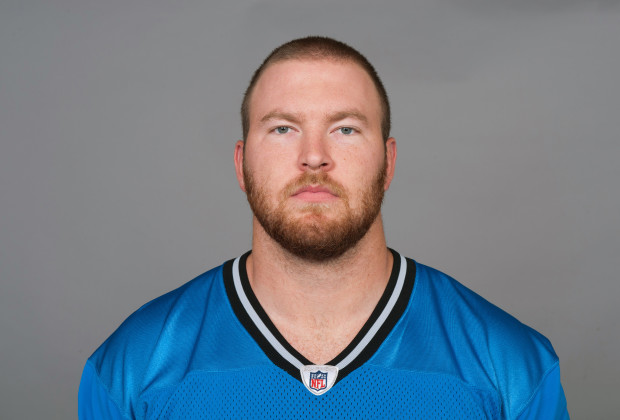 DETROIT, MI - CIRCA 2011: In this handout image provided by the NFL,  Jason Fox of the Detroit Lions poses for his NFL headshot circa 2011 in Detroit, Michigan.  (Photo by NFL via Getty Images)