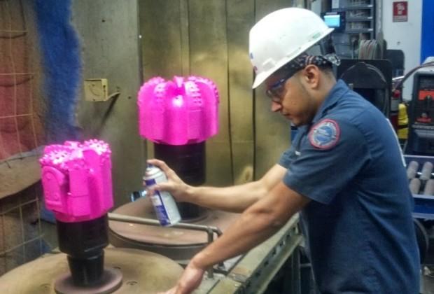 Pink Drill Bits Fracking 005
