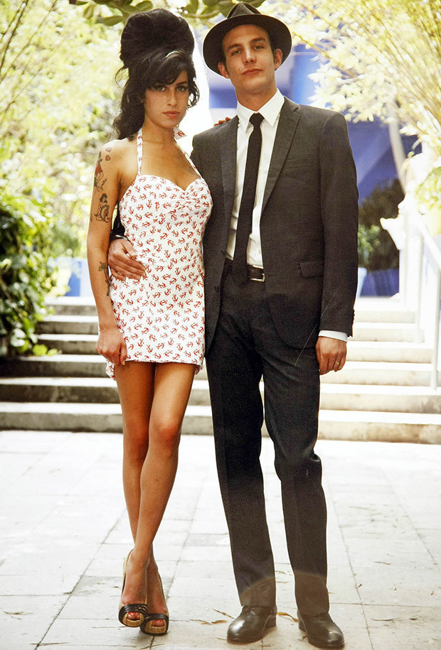 Amy Winehouse and Blake Fielder Civil, on their wedding day, May 18, 2007.