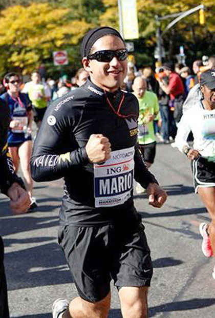 """Extra's"" healthy host Mario Lopez keeps in great shape! Lopez traveled to The Big Apple for the 2011 ING NYC Marathon and kept a video diary to document the experience."