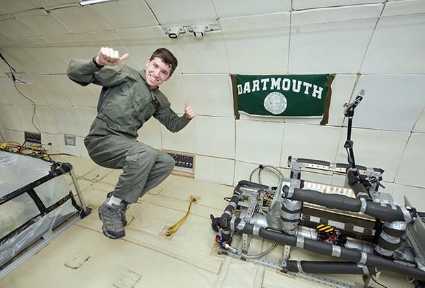 Reduced Gravity Office's Education Student Campaign Flight Week: June 6-10.  Flight 1.  Photo Date: June 8, 2011.  Location: Ellington Field - ZeroG Corp 727.  Photographer: Robert Markowitz