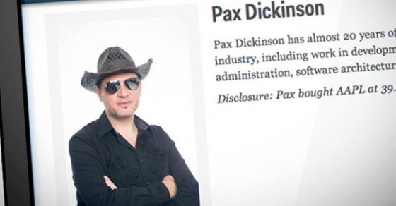 Pax Dickinson Is Back, and He Wants to Expose Corrupt Journalists