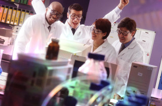 Successful Scientists --- Image by © Corbis