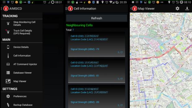 Secure Phone App 001 AIMSICD Teaser
