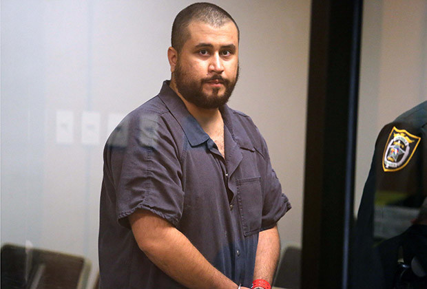 SANFORD, FL - NOVEMBER 19:  George Zimmerman, the acquitted shooter in the death of Trayvon Martin, arrives in Courtroom J2 to face a Seminole circuit judge during a first-appearance hearing on charges including aggravated assault stemming from a fight with his girlfriend November 19, 2013 in Sanford, Florida. Zimmerman, 30, was arrested after police responded to a domestic disturbance call at a house. He was acquitted in July of all charges in the shooting death of unarmed, black teenager, Trayvon Martin.   (Photo by Joe Burbank-Pool/Getty Images)