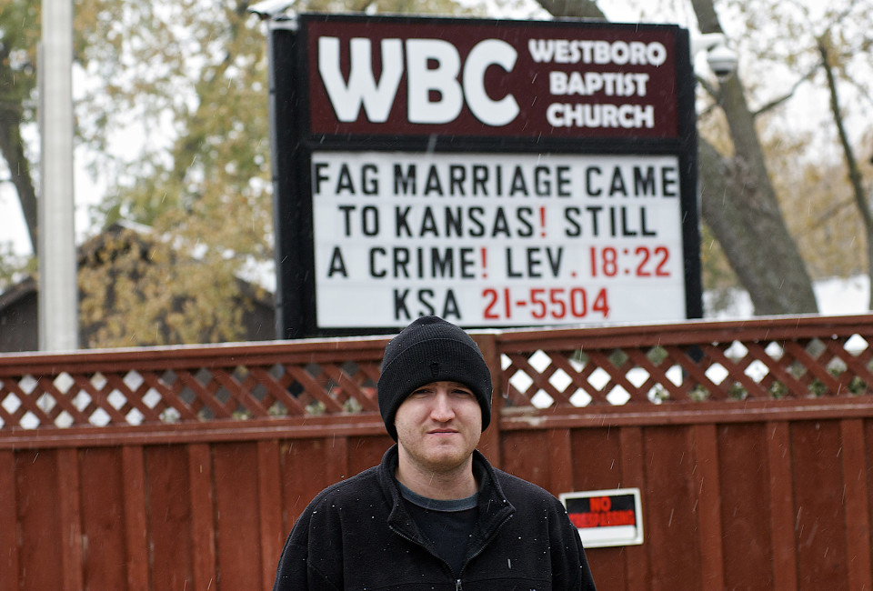 Zach Phelps-Roper outside the Westboro Baptist compound in Topeka Zach Phelps-Roper a  grandson of Fred Phelps is the fourth Phelps-Roper sibling to reject WBC's tactics of hate preaching and picketing. Zach joins at least twenty ex-WBC family members whom he was previously banned from speaking with, including his brother Josh and his sisters Megan and Grace.