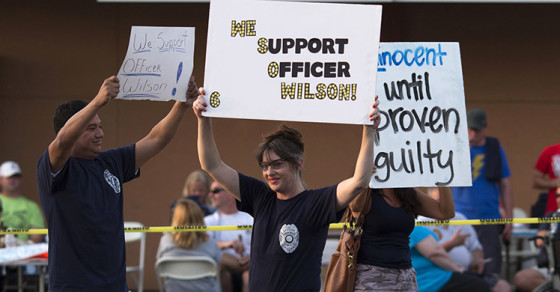 Network Intel: Darren Wilson Supporters