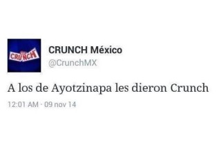 crunch mexico tweet