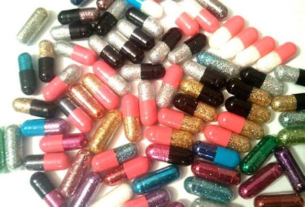 Glitter Pills in Bulk