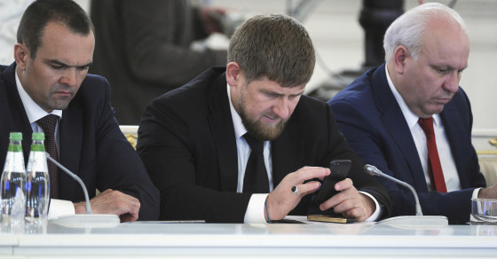 """Get Off Instagram,"" Says Chechen Leader, on Instagram"