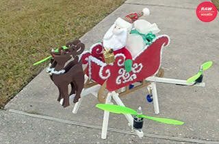Santa Drone Picture2