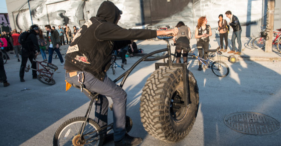 Welcome to Brooklyn's Mutant Bike Festival