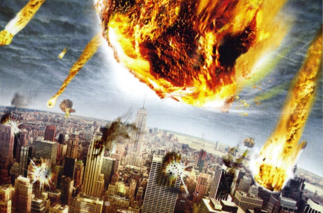 Image result for Hazardous Asteroid global destruction