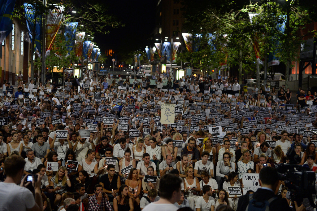 The World Hits The Streets For Freedom Of Speech